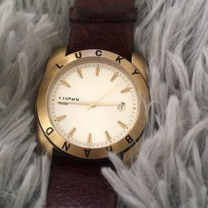 🎉Sale!🎉 LUCKY BRAND leather watch